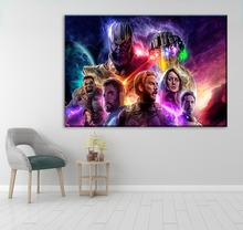 Movie Painting Decorative Wall Art Picture 1 Panel Avengers 4 Endgame Canvas Poster For Living Room Or Bedroom Framework Artwork