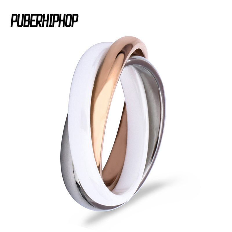2018 Rose Gold Three Cross Ring Zirconia Fashion White Black Ceramic Rings Jewelry Vintage Ceramic Decorations for Women xs310 a9 3 chic chefs zirconia ceramic knife white black 7 5cm blade