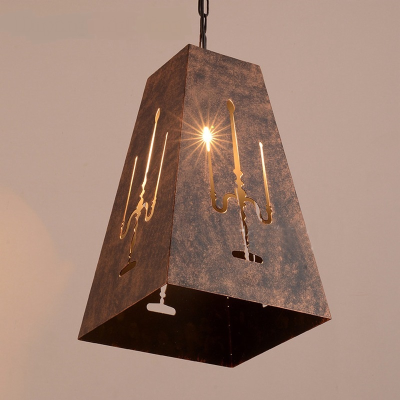 Retro iron cage pendant lights LOFT restaurant coffee clothing shop corridor balcony garden decoration pendant lamps GY339 greene society freedom and conscience paper