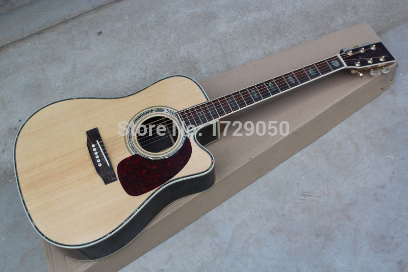 Best Price China guitar factory custom 100% New Top Quality 41 D acoustic 45 guitar solid spruce top free shipping in stock 112 in stock 2018 china factory hot 41 guitar pickguard hummingbird acoustic guitar pickguard 2mm thickness free shipping