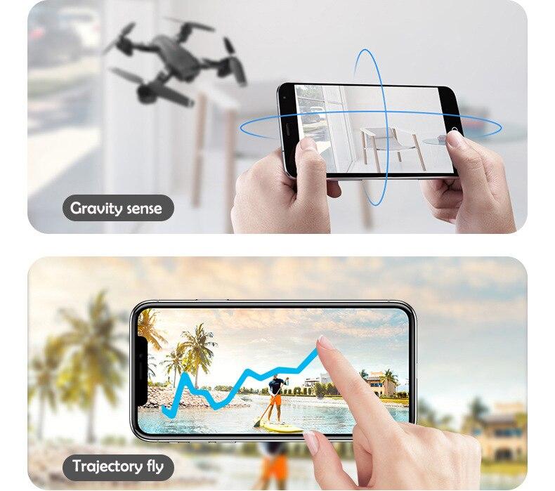 S6 Mini Drones avec caméra 4 k HD Rc quadrirotor Micro télécommande hélicoptère Fpv suivez-moi jouets pour enfants cadeau de noël - 5