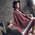 Poncho Women Pashmina Winter Scarf Women Imitation Cashmere Warm Shawl Blanket Scarf Winter Scarves and stoles 190*65cm WJ8041