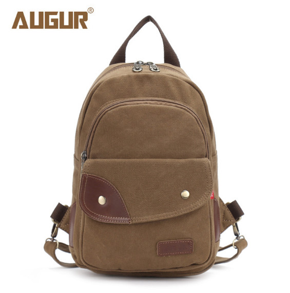 Vintage Canvas Backpack For Teenage Girls School Bag Travel Ipad Backpacks Bags