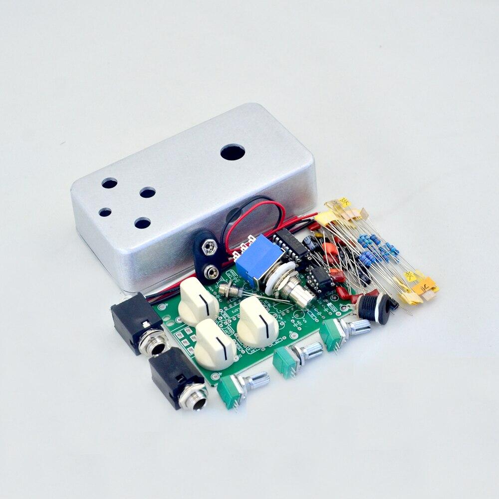 DIY Verzögerung pedal Gitarre Effektpedale kit mit vorgebohrten ...