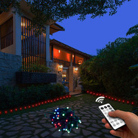Outdoor LED String Lights For Wedding Party Waterproof Garden Lamp Lightweight String Lamp Lawn Patio Decoration