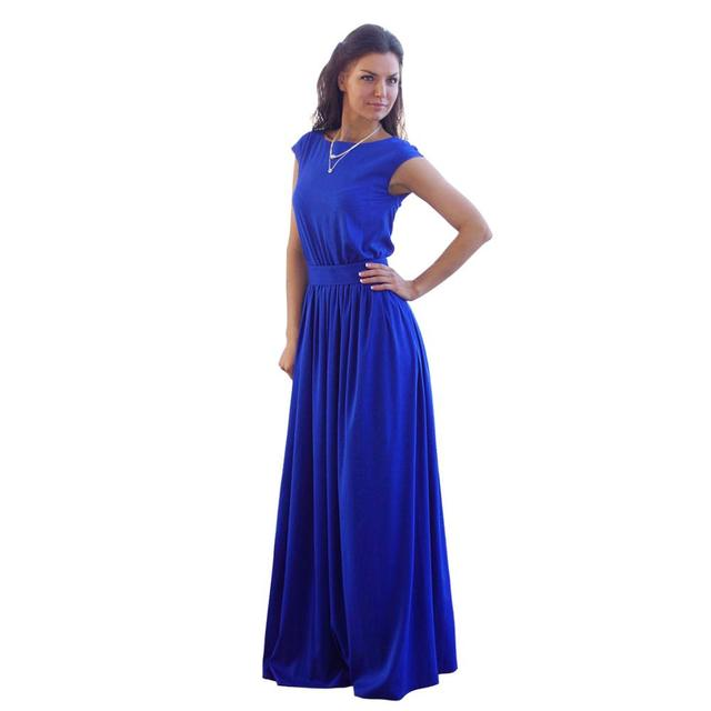 kaywide 2016 summer elegant beach dress with sashes pleated robe