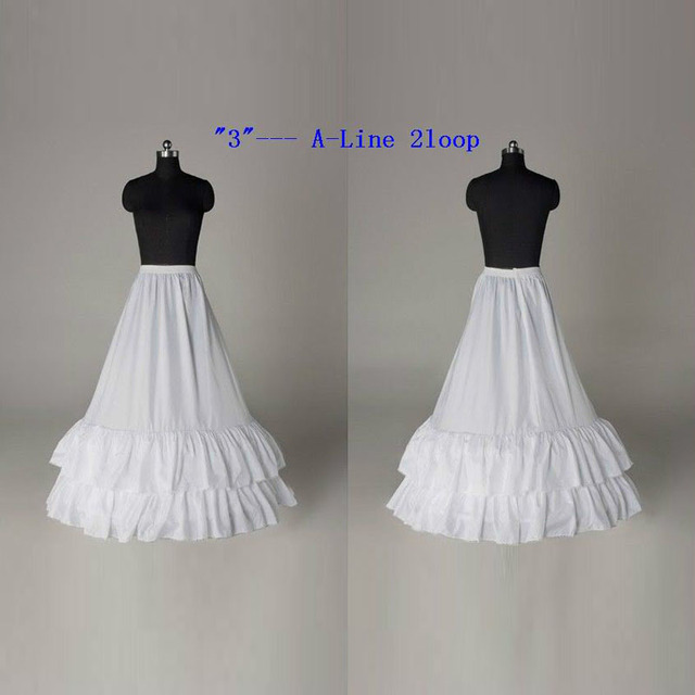 2015 freeshipping white polyester crocheted petticoat crinoline for wedding dress underskirt petticoat for girls a-line
