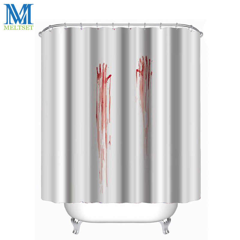 Online Get Cheap Halloween Shower Curtain Aliexpress