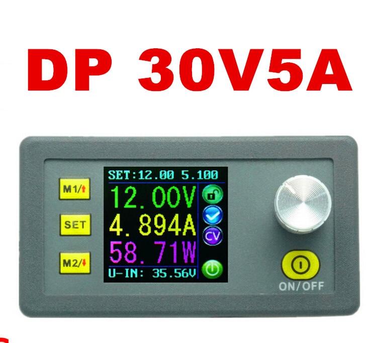 ФОТО DP30V5A Constant Voltage current Programmable Power Step-down Supply module Ammeter buck regulator converter voltmeter