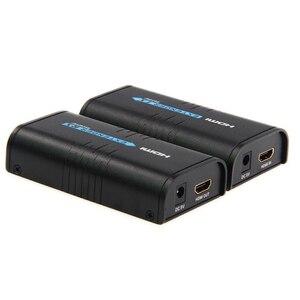 Image 2 - V 3.0 LKV373A HDMI extender ספליטר מעל cat5e/6 כבל עד 120M TCP/IP 3D & 1080P