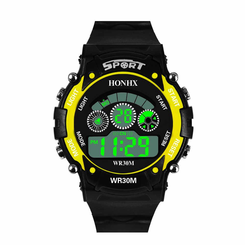 Moda erkek dijital saat LED spor saat açık kol saati relojrelgio saat relogio dijital reloj deportivo hombre montre