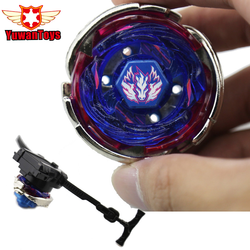 Hot Beyblade Metal Fusion 4D BB105 L Drago Gold Spinning Rapidity Beyblades Spin Top Toy Set