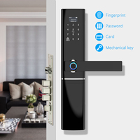 Биометрический Электронный Отпечаток пальца дверной замок Kyeless Умный Цифровой безопасный отпечаток пальца, код, ключ сенсорный экран цифро