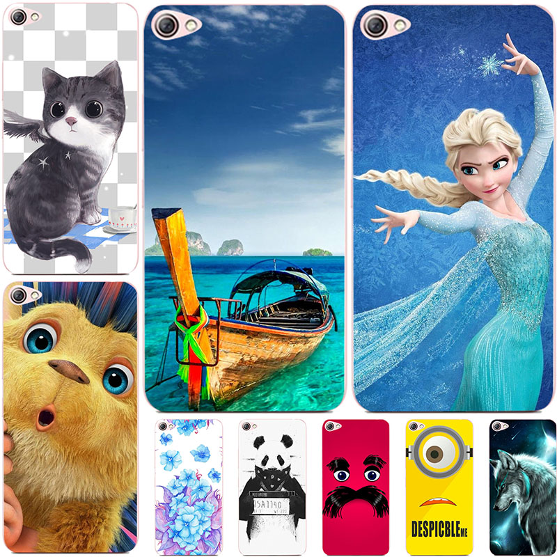 Fashion Cartoon Printing Case For <font><b>Lenovo</b></font> <font><b>S60</b></font> S60T S60W S60A S 60 Phone Bag Cat Landscape Drawing Back Cover Coque Hot image
