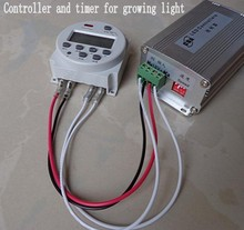Sunset Sunrise led grow Light controller and timer 150W 12V for aquarium lamp Spectrum Marine Seawater Tank plant Lights