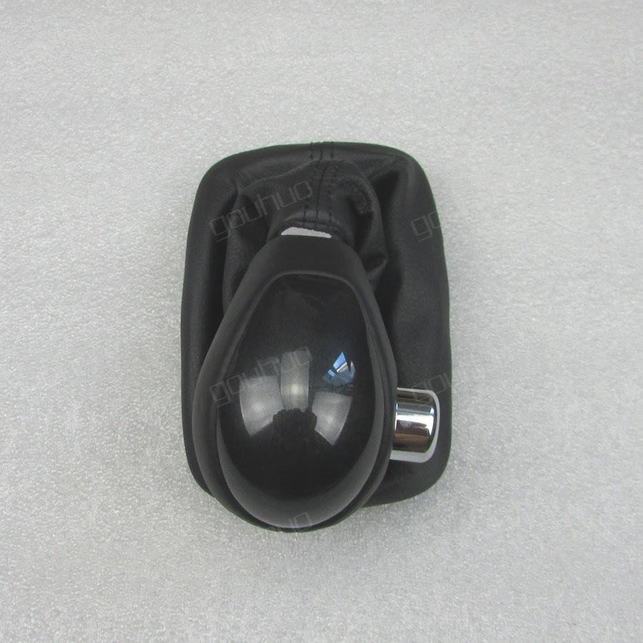 Pour KIA Forte 09-16 pommeau de levier bâton de trains pommeau de changement de vitesse bâton shifter bouton Poussière- couvercle étanche