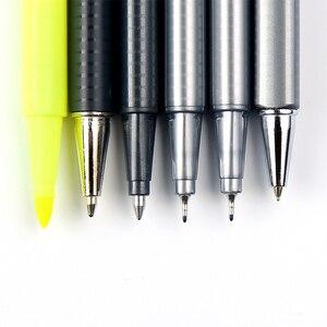 Image 4 - Deutschland Staedtler Triplus Schwarz Box Büro 0,5mm Mechanische Bleistift Fühlte Spitze Pen Permanent Marker Stift und Bleistift Set Schreibwaren