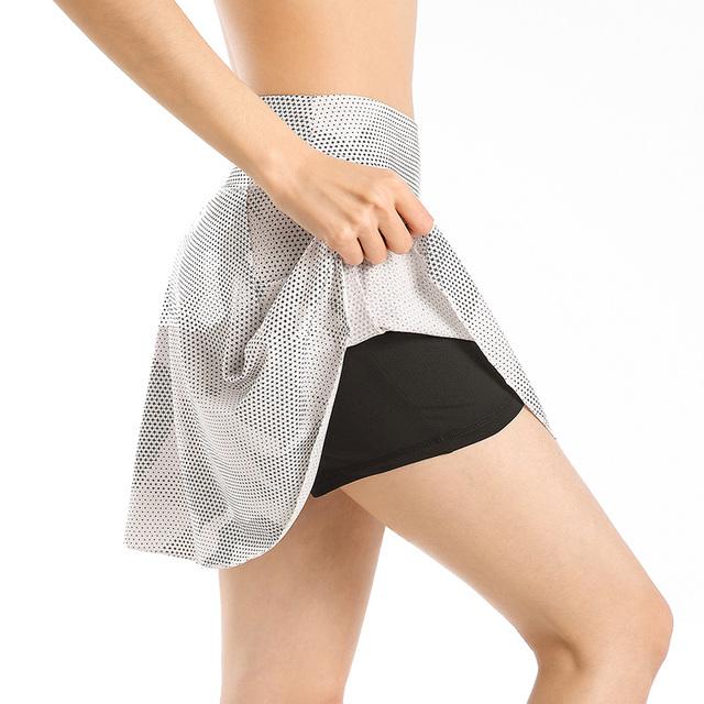EAST HONG Women's Fitness Golf Tennis Skorts Badminton Running Sports Shorts Skirts