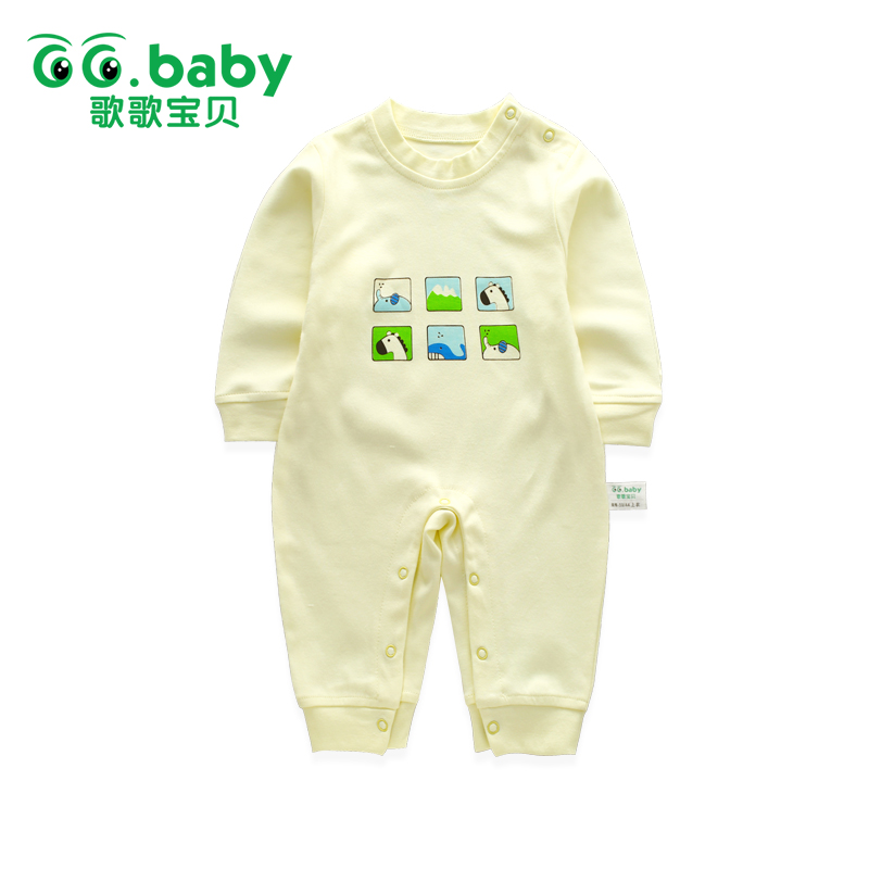 Retail Cute Animal Baby Rompers Boys Newborn Cotton Infant Girls Romper Baby Jumpsuit Clothes Baby Jumpsuits For Babies Clothing winter newborn baby girls clothing boys rompers cartoon infant clothes down snowsuit babies jumpsuits christmas clothing 2016