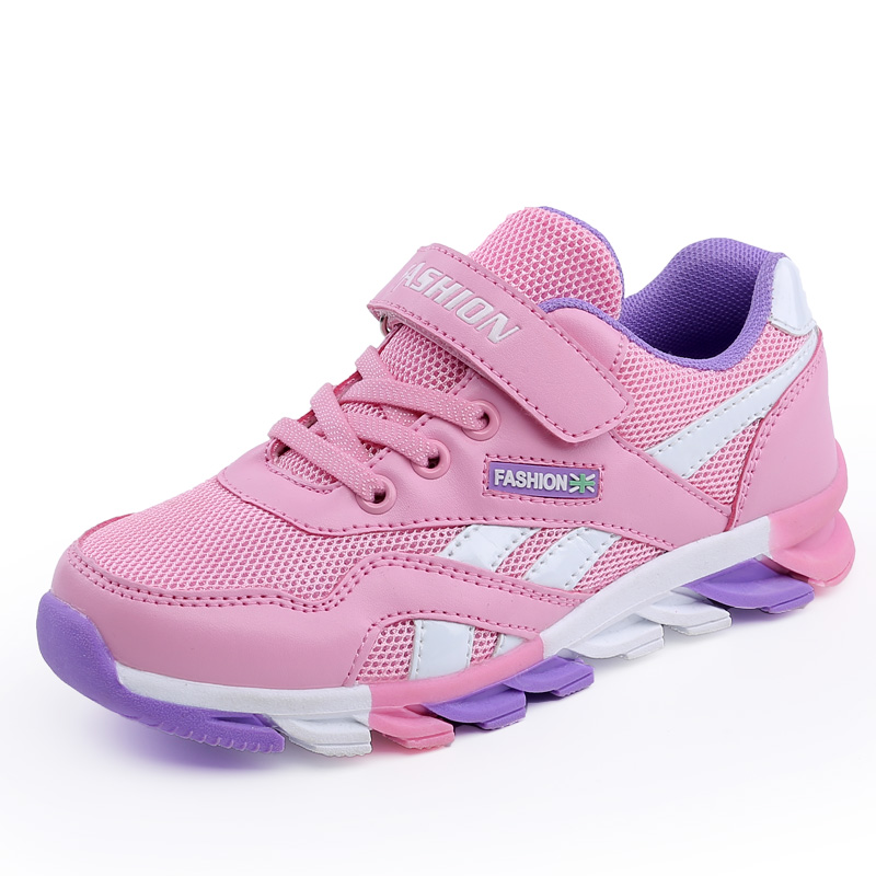2017 New Children <font><b>Shoes</b></font> Boys Cheap Brand Sneakers Girls Outdoor Sports <font><b>Shoes</b></font> Breathable Kids Jogging <font><b>Shoes</b></font> Athletic Trainers