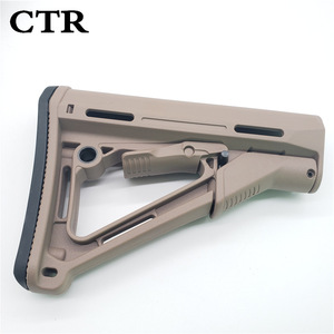 Image 5 - Tactical Nylon CTR Rear Back Support CTR After Care Back For Airsoft AEG Toy Hunting Accessories
