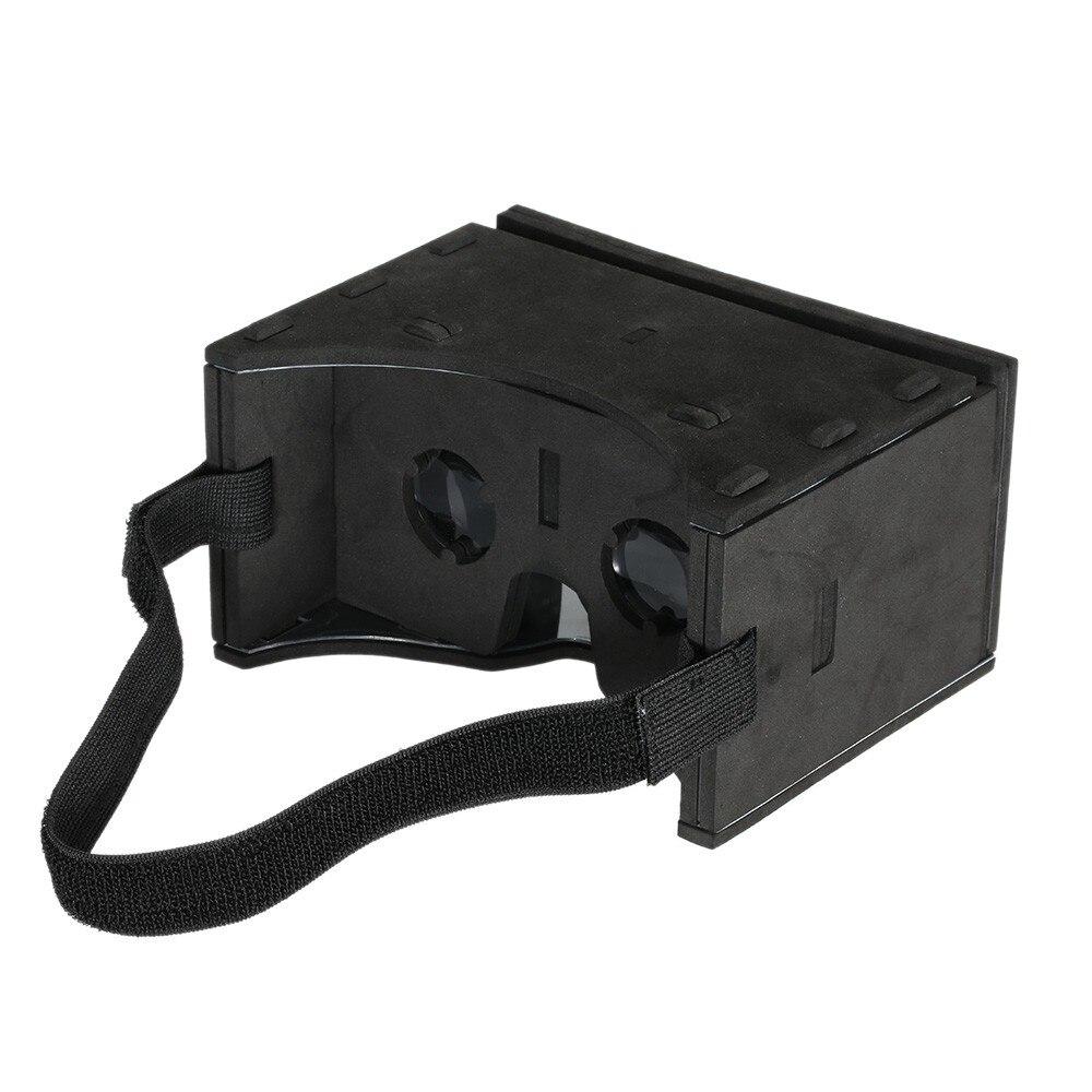 """<font><b>Portable</b></font> <font><b>Soft</b></font> EVA 3D <font><b>VR</b></font> <font><b>Glasses</b></font> <font><b>Virtual</b></font> <font><b>Reality</b></font> <font><b>Video</b></font> with Magnetic Switch Hand Belt for All 3.5 ~ 6.0"""" Smart Phones"""