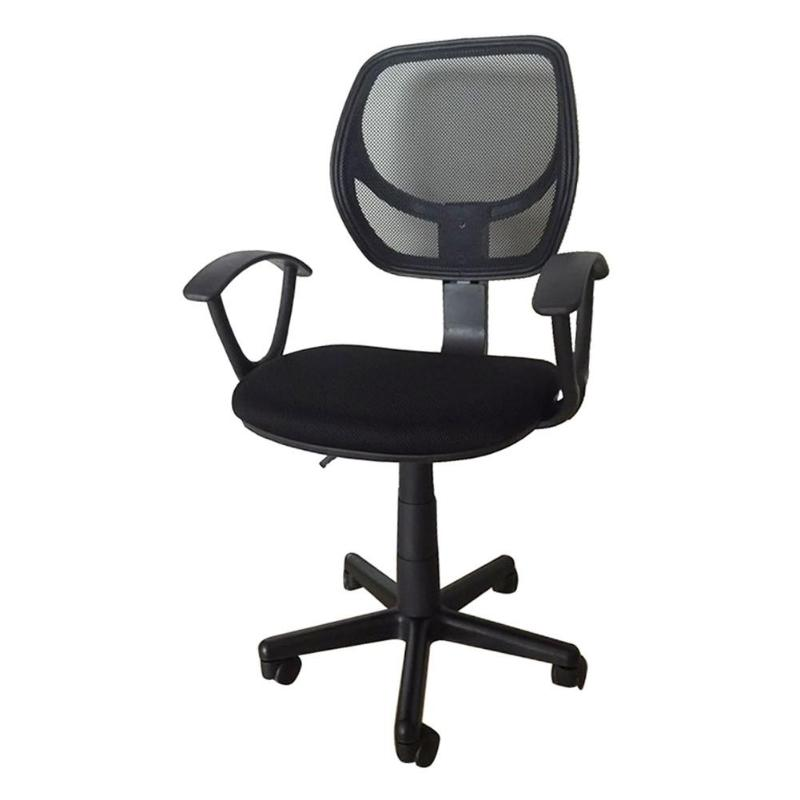 Home Office Room Use Nylon Five-star Feet Mesh Revolving Chair Armchair  E5M1