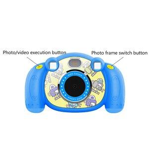 Image 5 - Thiết Kế Mới 2 Inch Hoạt Hình Dễ Thương Chống Trơn Trượt Mini Kỹ Thuật Số Camera Sinh Nhật Tặng Đồ Chơi Cho Trẻ Em Có Ghi Âm