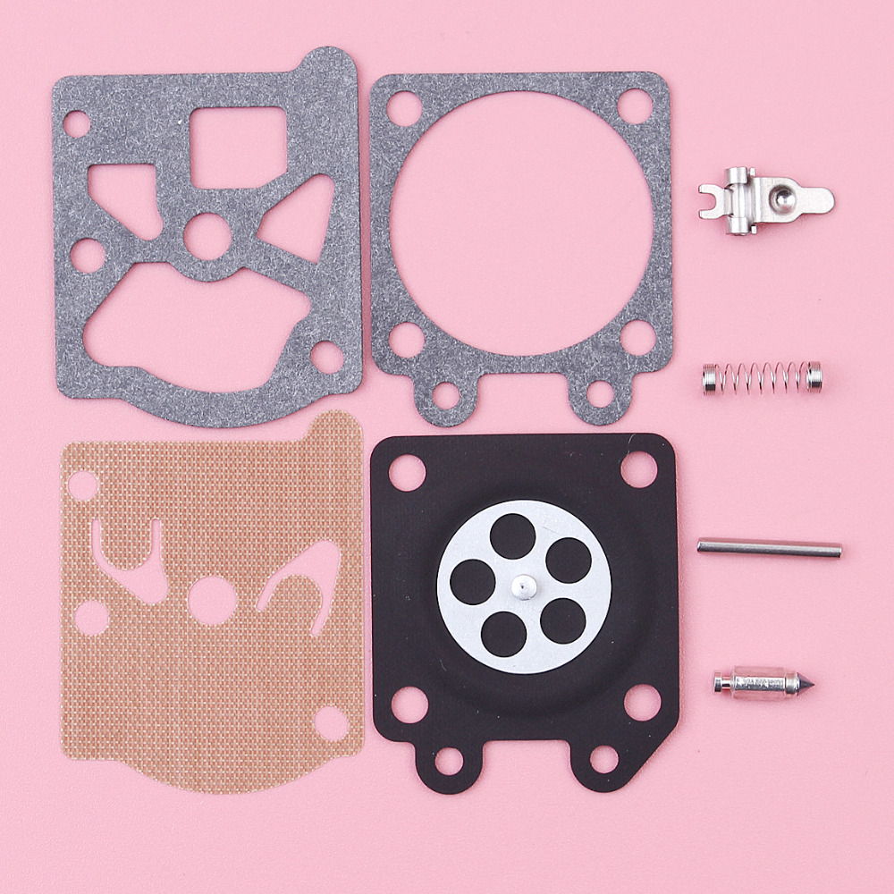2pcs/lot Carburetor Carb Repair Rebuild Diaphragm Kit For Partner 350 351 370 371 420 Walbro 33-29 Chainsaw Spare Parts цена