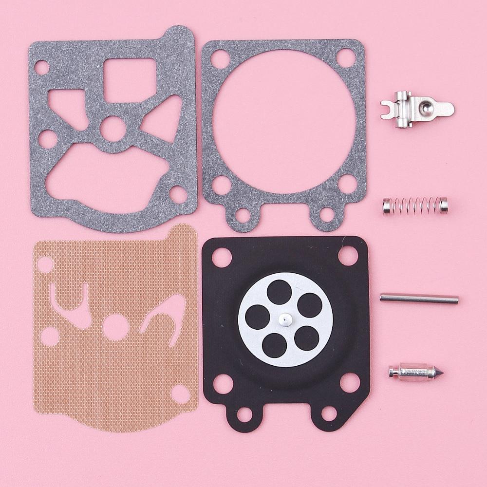 2pcs/lot Carburetor Carb Repair Rebuild Diaphragm Kit For Partner 350 351 370 371 420 Walbro 33-29 Chainsaw Spare Parts