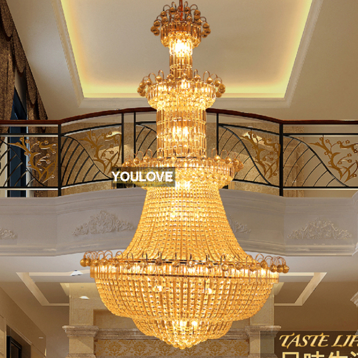2017 Gold Crystal Chandelier European Crystal Chandeliers Lights - Indoor Lighting