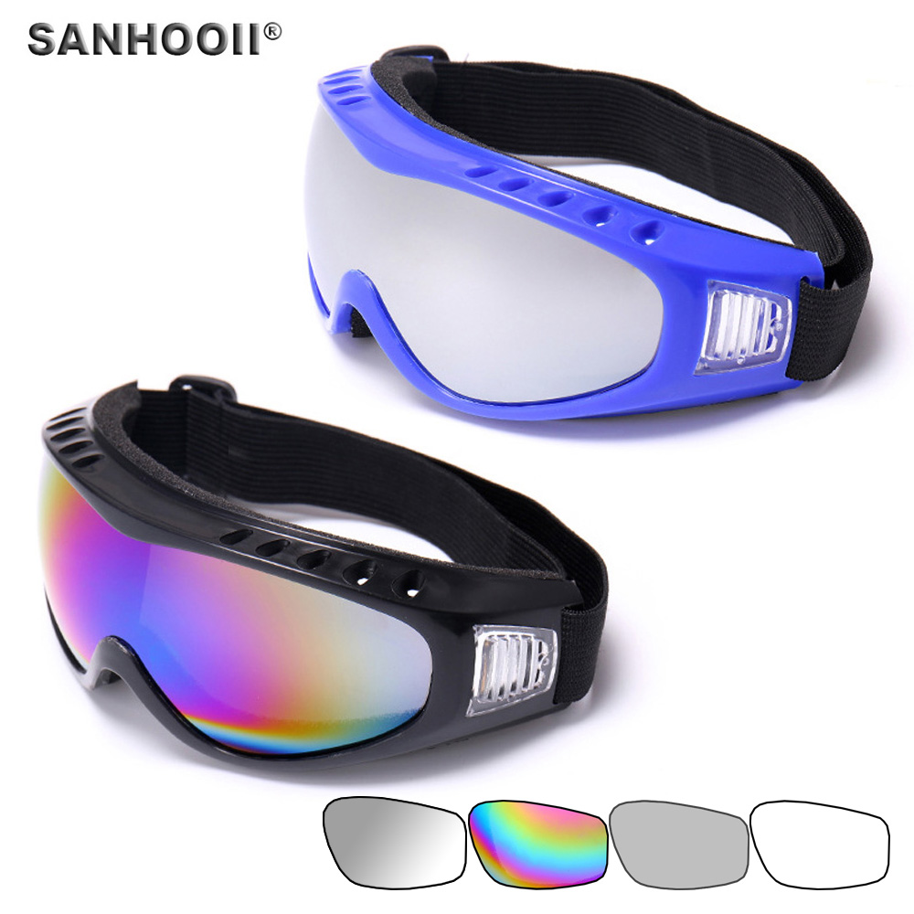 TEDRICK motociklai Dulkių atsparūs slidinėjimo snieglenčių akiniai nuo saulės akiniai Objektyvo jojimo motokrose