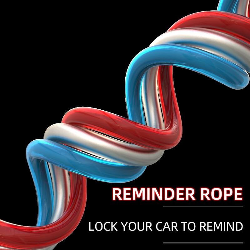 Spirit Beast Reflective Reminder Rope Motorcycle Universal Accessories Car Lock Warning Rope Motocross Multi-purpose Rope