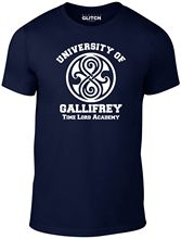 Mens University of Gallifrey T-Shirt. Harajuku Tops Fashion Classic Unique t-Shirt gift free shipping