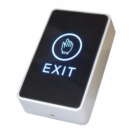 Touch screen Exit switch & push button switch for access control system  2 pieces  free shipping touch screen