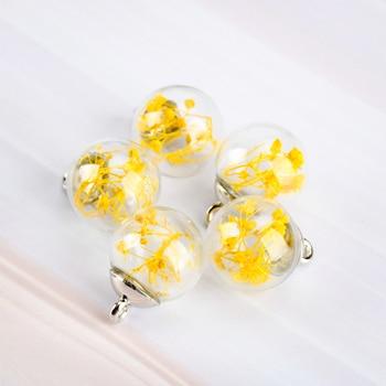 16# Alloy Hook Hollow Hand-made Glass Bead Glass Charms Pendant handmade Beads & Jewelry Making Glass Beads Wholesale #IZ513
