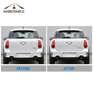 Image 5 - AMBERMILE 3D מתכת אותיות מדבקות אחורי Trunk לוגו סמלי רכב מילות מדבקה עבור BMW מיני קופר Countryman R60 F60 אבזרים