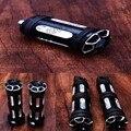 Edge Cut Handlebar Hand Grip Foot Peg 5pcs Harley XL 883 1200 48 Models 96 UP