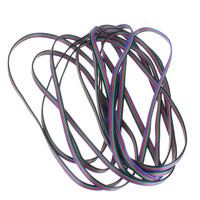 5M 4-Pin LED Extension Wire Connector Cable For 3528 5050 RGB Strip Best Price