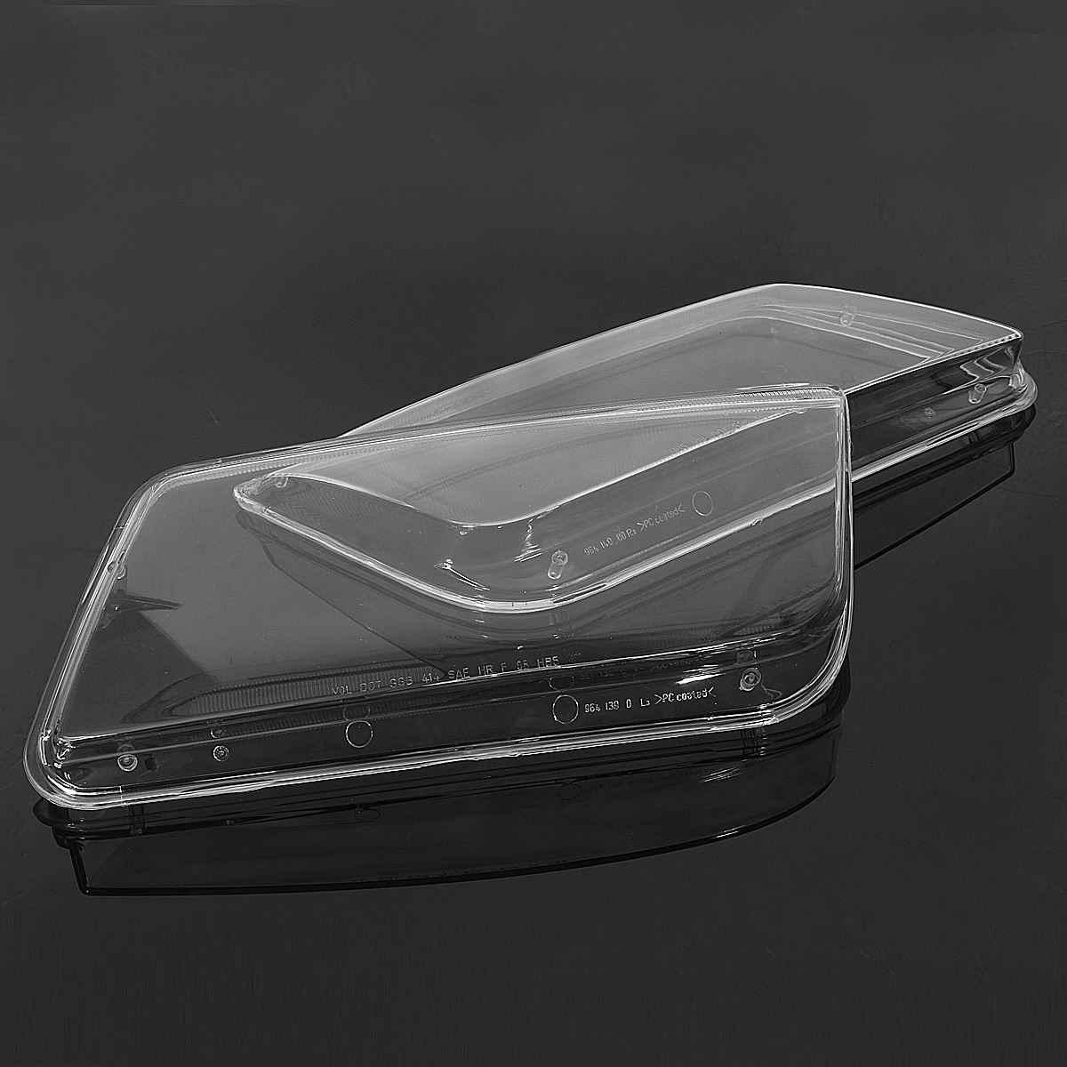 2 adet sol ve sağ araba far camı kapağı yedek kafa lamba kapakları VW Jetta Bora için MK4 1999 2000 2001 2002 2003 2004 2005