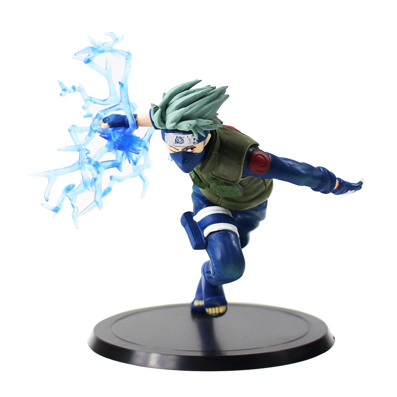 11cm Naruto Shippuden Kakashi Figure Toys Hatake Kakashi Running Figurine PVC Action Figure Collectible Model Dolls 1