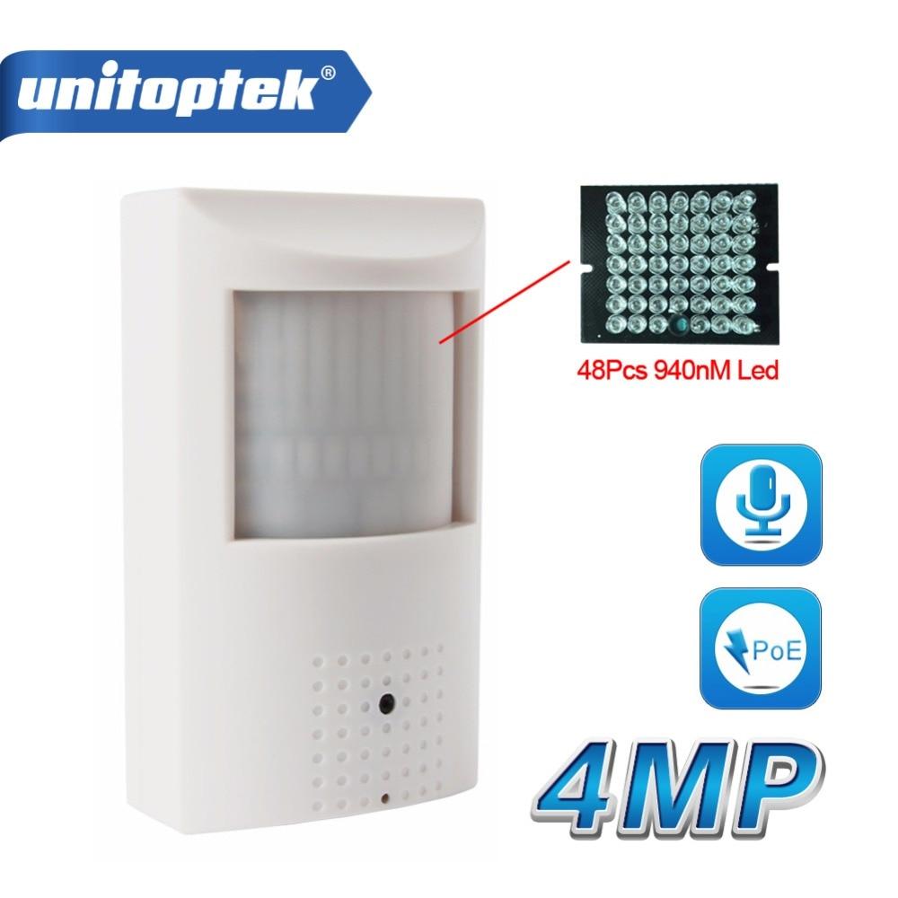 H.265/H.264 HD MP IP Camera PoE Stile PIR Sicurezza CCTV Mini 3MP Ip Audio WIFI Onvif + IR Invisibile 940nm Notte visione