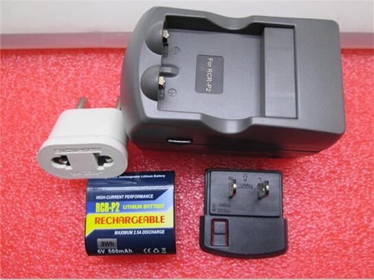 ร้อนใหม่CR P2 (RCR P2)แบตเตอรี่กล้อง+ชาร์จCRP2 P2 6โวลต์500มิลลิแอมป์ชั่วโมงแบตเตอรี่ชาร์จแบตเตอรี่ลิเธียมชาร์จสูท-ใน แบตเตอรี่แบบชาร์จได้ จาก อุปกรณ์อิเล็กทรอนิกส์ บน AliExpress - 11.11_สิบเอ็ด สิบเอ็ดวันคนโสด 1
