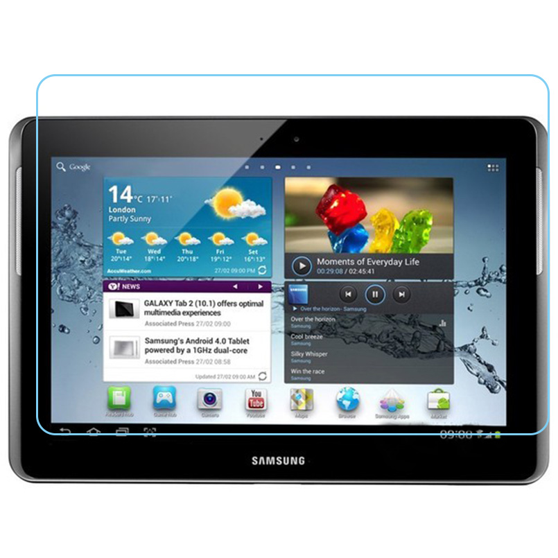 Screen-Protector-Film Tab2 P5100 Tempered-Glass Tablet Galaxy for Samsung Tab2/P5100/P5110