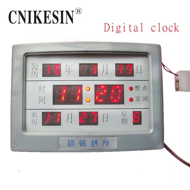 cnikesin diy kit digital electronic clock electronic calendar kit