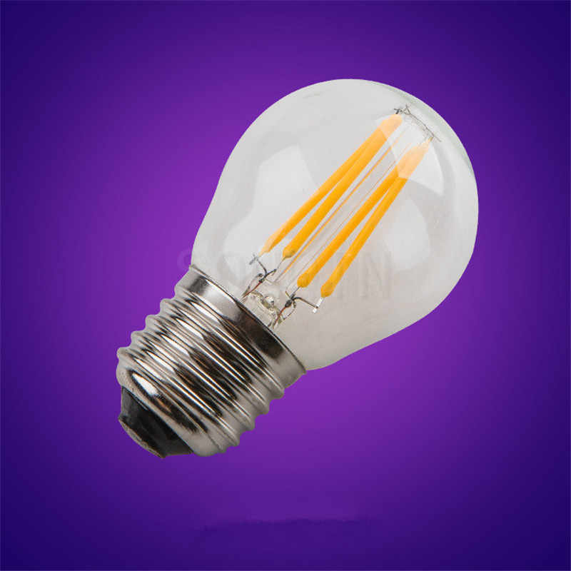 1pcs Super Bright 6W 9W 18W 24W Retro Vintage Edison Bulb E27 E40 LED Filament Light G45 A60 AC220V 240V