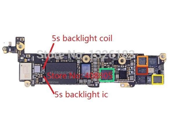 iphone 5c нет изображения