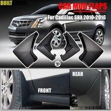 Oe Montage Auto Spatlappen Voor Cadillac Srx 2010   2016 Spatlappen Splash Guards Mud Flap Spatborden Fender 2011 2012 2013 2014 2015