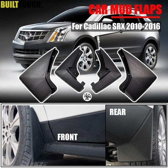 純正装備車の泥フラップのためのキャデラックsrx 2010   2016 mudflapsスプラッシュガード泥フラップマッド2011 2012 2013 2014 2015