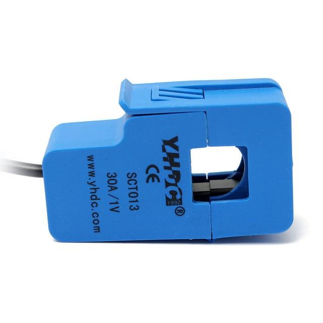 THGS YHDC 30A SCT013 Non invasivo AC Nuovo Sensore Split Nucleo Trasformatore di Corrente Nuovo